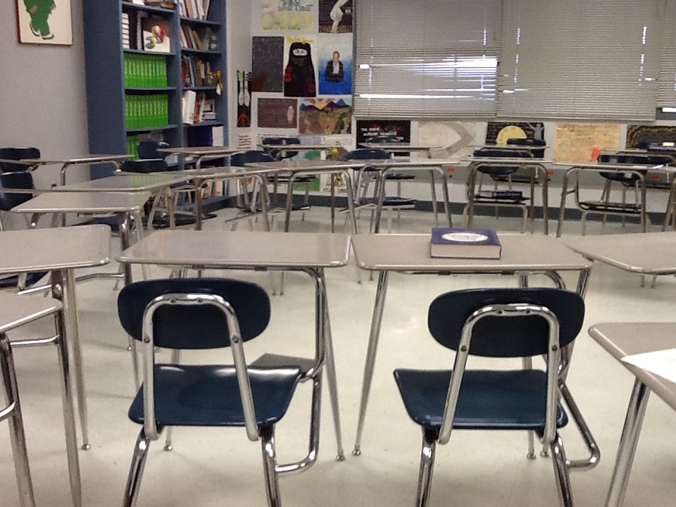 Circle of desks