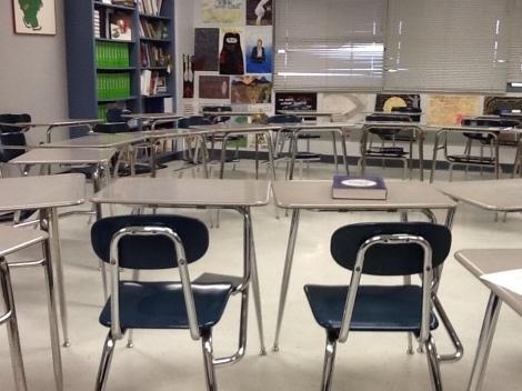 Circle of desks