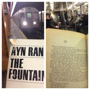 Brenda on Train