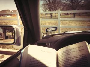 Nika Maples Reading in the CAR