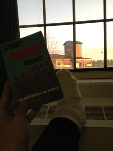 Michael Fields Broken Foot