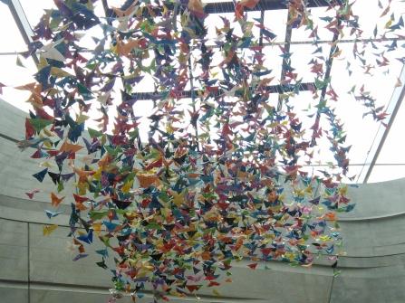paper butterflies perot museum